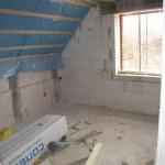 Apartment 3: Schlafzimmer mit Blick auf die Dünen