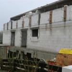 Blick auf die Ostseite des Hauses