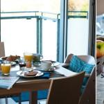 Frühstück in Apartment 5