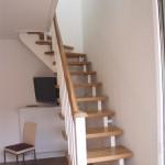 Treppe zum Schlafzimmer, Apartment 1