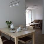 Wohn-/Essbereich Apartment 4