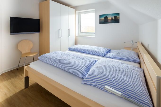 Schlafzimmer Ansicht 1 Ferienwohnung TypB